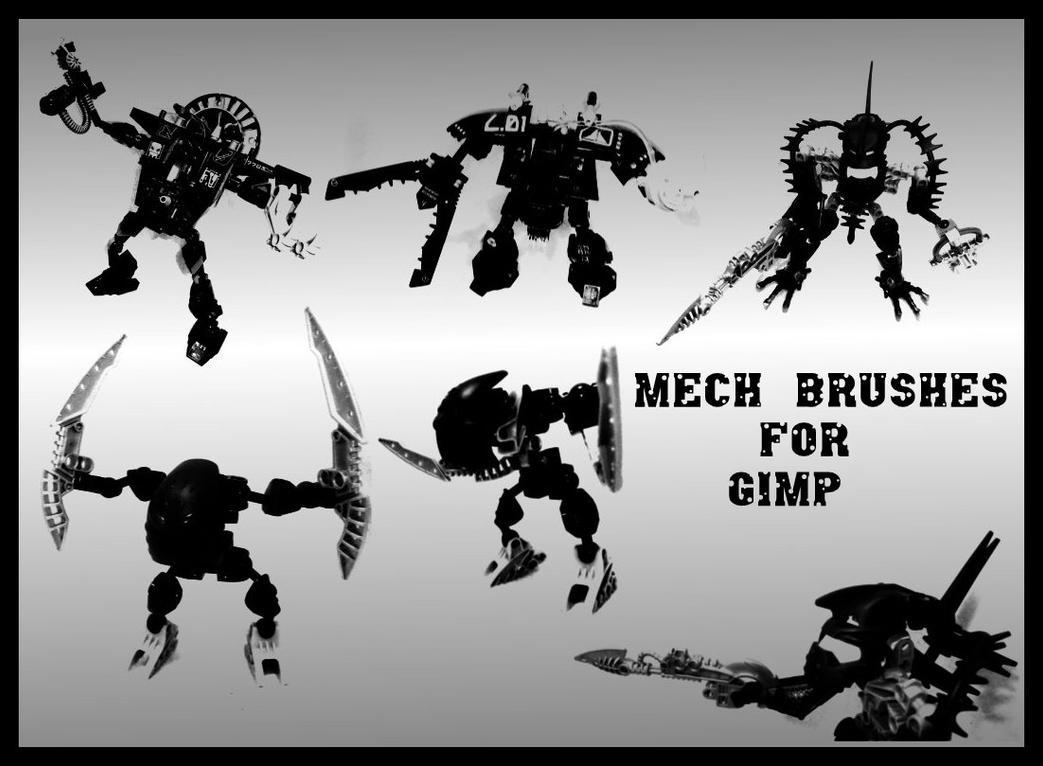 Mecha Brushes by gorgonbreath