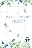 Pack Png 2 Leaves by Genjee95