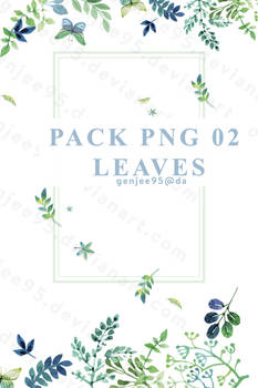 Pack Png 2 Leaves