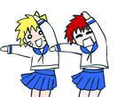 NaruGaa Azumanga Dance