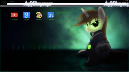 Littlepip Chrome theme by Daring-Dash-Hoof