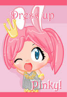 Dress up Pinky by BonnieMcBop