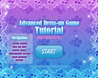 Advanced DressUp Game Tutorial by BonnieMcBop