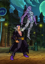 Leone Abbacchio and Moody Blues