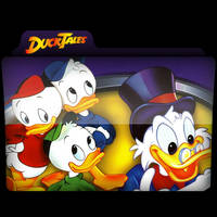 Ducktales Folder Icon by AlejandraDNA