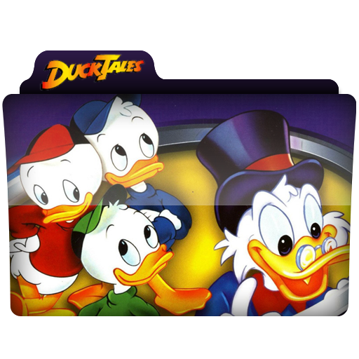 Ducktales Folder Icon by AlejandraDNA on DeviantArt