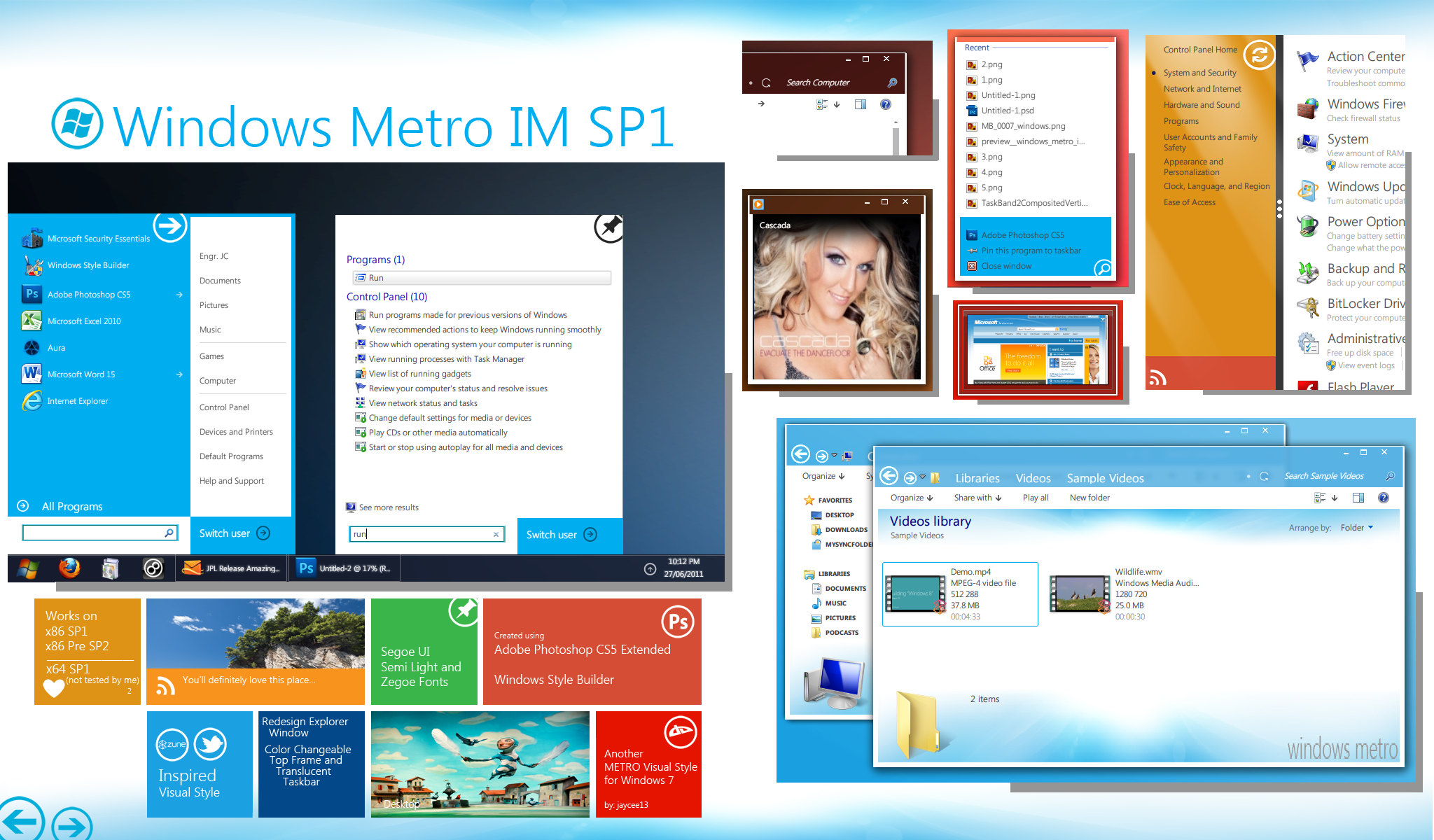 windows metro im sp1 by jaycee13 d3k8wgl - 10 Beautiful Themes To Colorize Your Windows 7 Desktop
