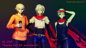 ||MMD|| Papyrus Pack [50 Watchers gift]