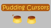 Pudding Cursors by Sephora909
