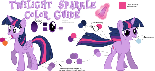 Twilight Color Guide (Colors From Hubworld)