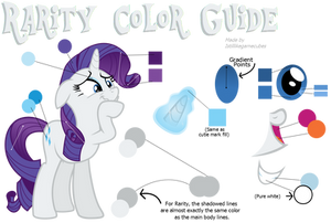 Rarity Color Guide (Colors From Hubworld)