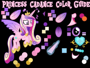 Cadance Color Guide (Colors from Hubworld)