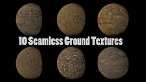 10 Seamless Ground Textures