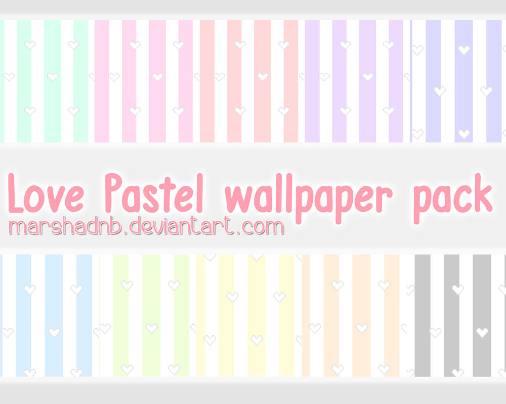 Love pastel wallpaper pack by marshadnb by Marshadnb on DeviantArt