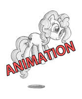 bouncing Pinkie Pie by furor1