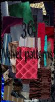 Velvet patterns