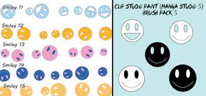 Clip Studio Paint (Manga Studio 5) Brush Pack 5