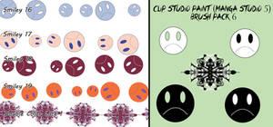 Clip Studio Paint (Manga Studio 5) Brush Pack 6