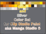 Clip Studio Paint (Manga Studio 5) Color Set