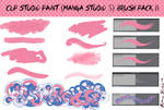 Clip Studio Paint (Manga Studio 5) Brush Pack 8