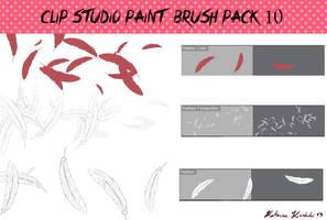 Clip Studio Paint Brush Pack 10 by Katarina-Kirishiki