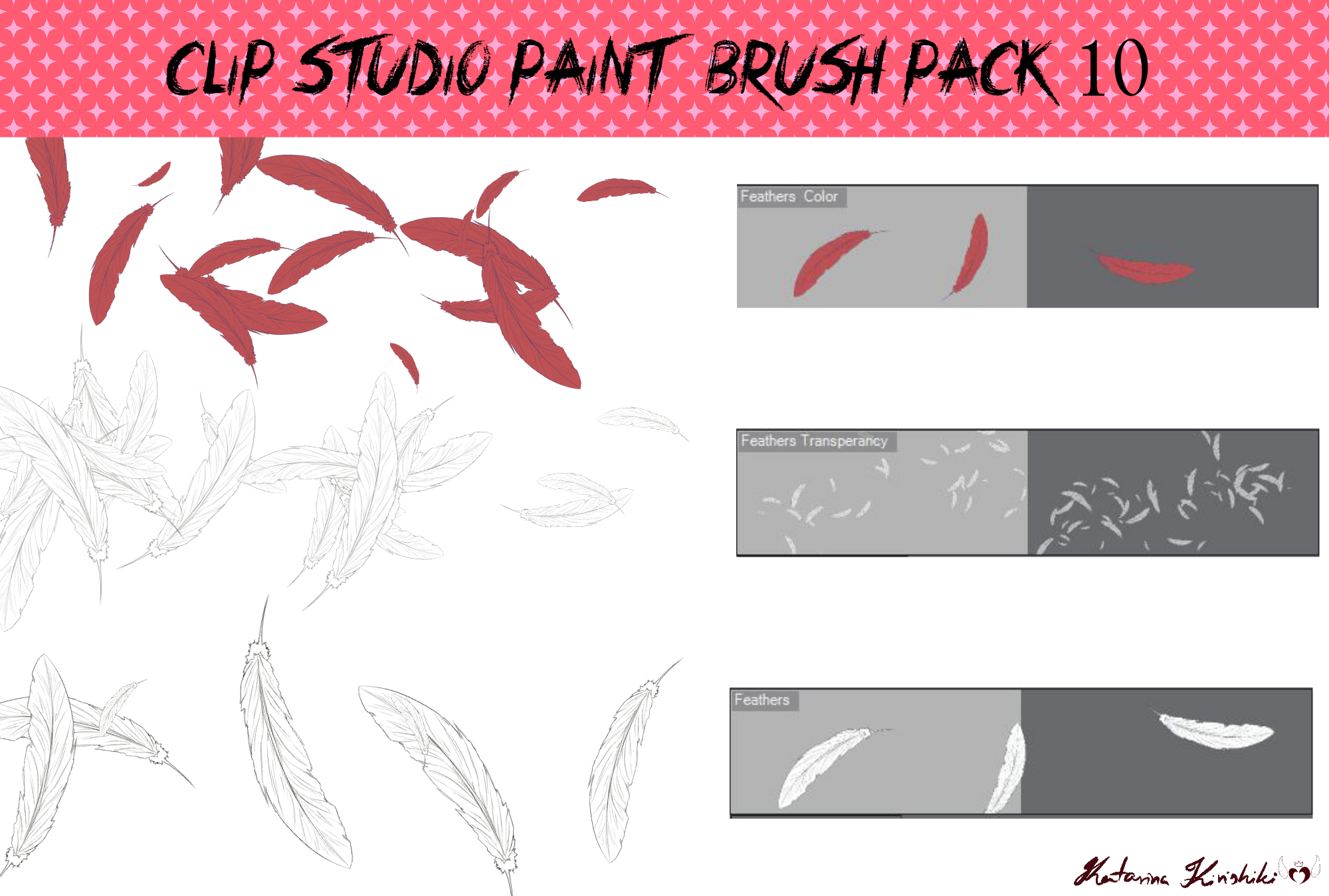 how to download and use brushes clip studio ain t