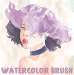 CLIP STUDIO PAINT   Watercolor Brush