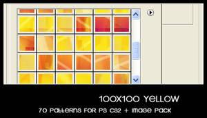 100x100 yellow