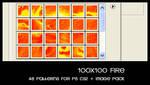 100x100 fire