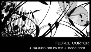 Floral corner by deviantales