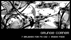 Grunge corner