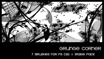 Grunge corner by deviantales