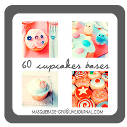 Icon Bases - Cupcakes