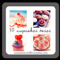 Icon Bases - Cupcakes 2