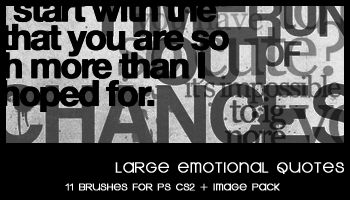 Large Emotional Quotes