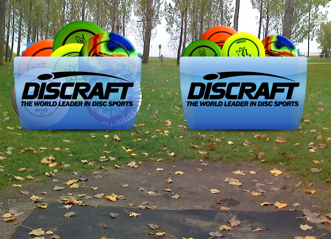 Discraft Disc Golf Colorflow by ShawnViola