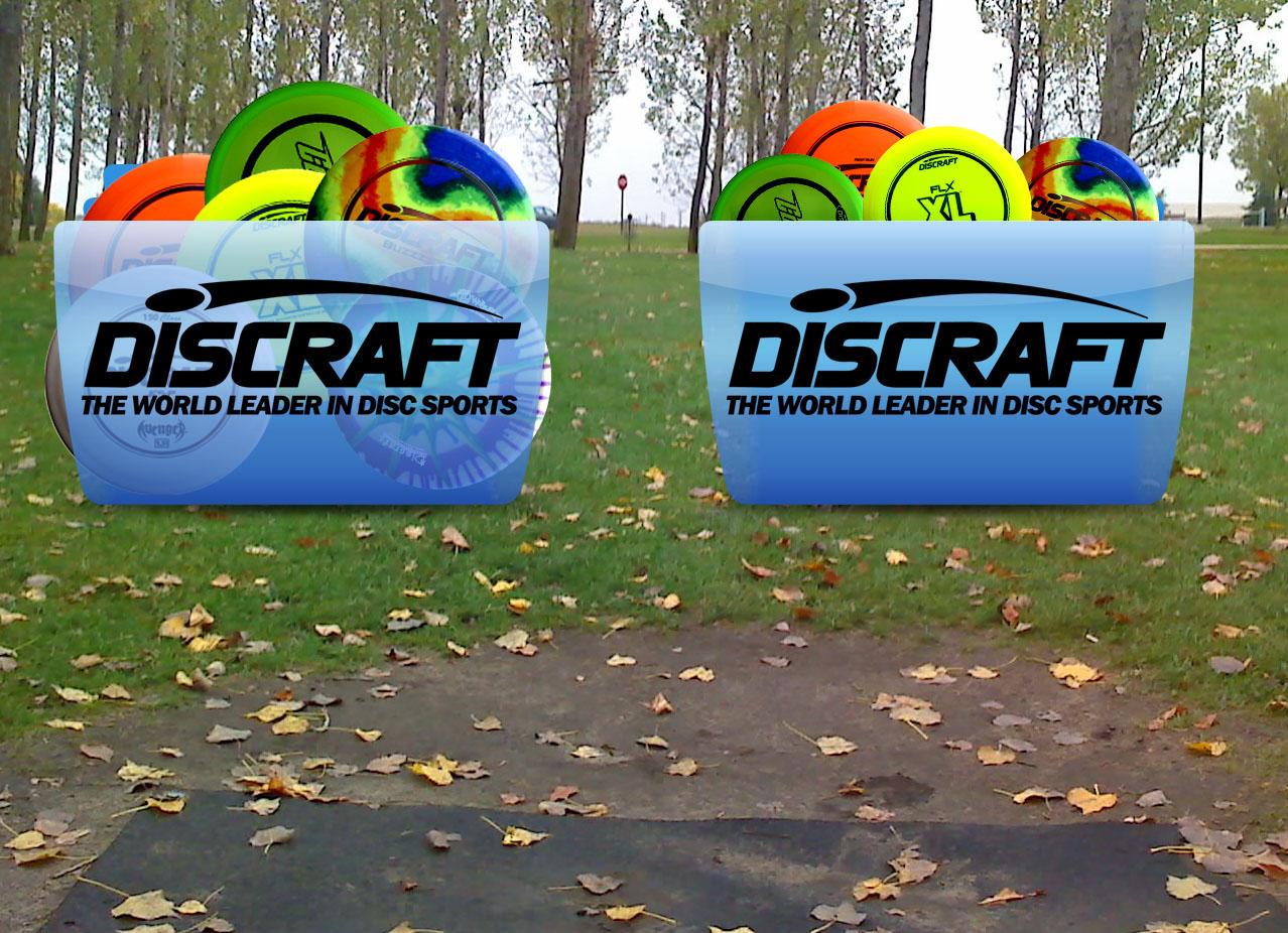 Discraft Disc Golf Colorflow by ShawnViola