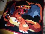 Charizard Blanket Pattern