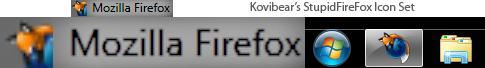 StupidFireFox Icon Set by kovibear