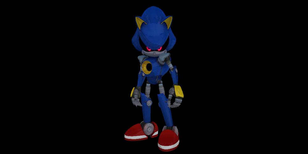 Metal Sonic (Sonic Boom) For MMD by MakutaKorzak