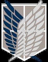 Attack On Titan [Survey Corps Logo] by YumaKirosaki