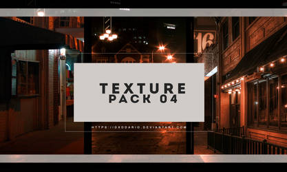 TEXTURE PACK 04 by dxddario