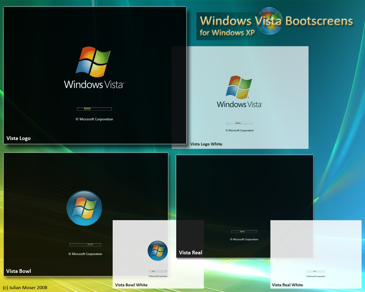 Vista Bootscreen Pack By Somnambul