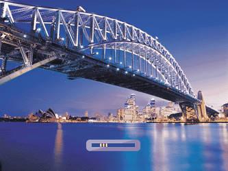 Sydney Harbour Brigde Bootskin by somnambul