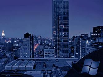 Manhattan Bootskin by somnambul