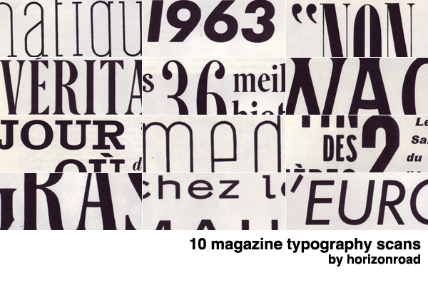 scans_magazine_typography by horizonroad