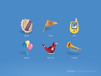 Up Icon by fengsj
