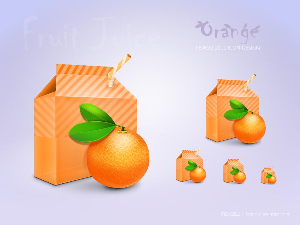 Orange Icon by fengsj