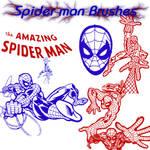 SpiderMan Photoshop Brush Set