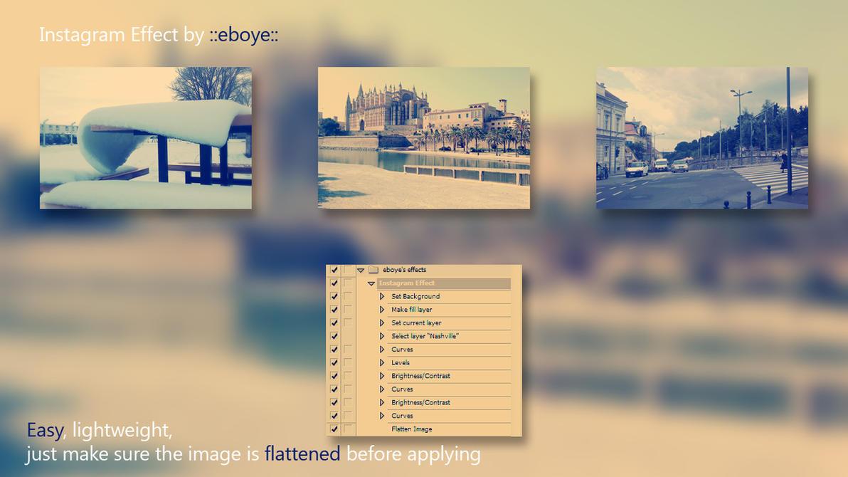Instagram photoshop action by eboye on deviantart instagram photoshop action by eboye ccuart Choice Image